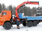 Фото в   Предлагаем услуги манипулятора на базе Камаз в Ярославле 1500