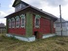 Увидеть фотографию  Бревенчатый дом в тихой деревне, недалеко от реки и леса, 210 км от МКАД 40738913 в Москве