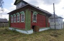 Бревенчатый дом в тихой деревне, недалеко от реки и леса, 210 км от МКАД