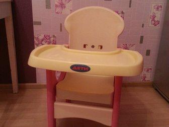 Увидеть фото Детская мебель Стульчик для кормления 33244519 в Электростали