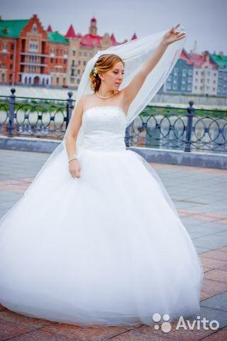 Свадебное платье на авито йошкар-ола
