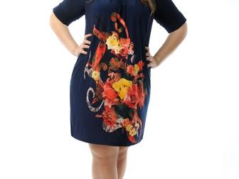 Новое foto  Женские летние платья большого размера оптом 35909013 в Йошкар-Оле