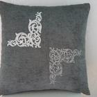 Подушка с вышивкой «Узоры2»