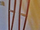 Просмотреть фото Квартиры Продам деревянные костыли, б/у 55569185 в Калининграде