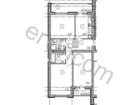 Продается трехкомнатная квартира по ул.Красносельской на 3-е