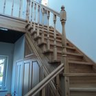 Лестницы ясень массив