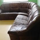 Угловой диван натуральная кожа