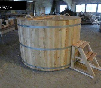 Фотография в Сантехника (оборудование) Сантехника (оборудование) Деревянные купели для бани, купель из дерева в Калининграде 37000