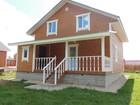 Смотреть foto Загородные дома дома по киевскому шоссе недорого 11 соток магистральный газ Боровики 36817166 в Калуге