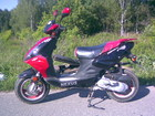Изображение в   Продаю скутер на ходу целиком на запчасти. в Калуге 10000
