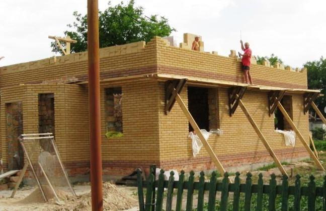 Строительство дома из доски своими руками