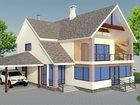 Просмотреть изображение  Проектируем дома, бани, коттеджи, гаражи, участки, дачи любой сложности 33067553 в Казани