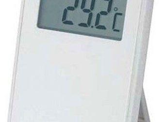 Смотреть изображение Разное TM1055 Серебро комнатно-уличный термометр 32448370 в Казани