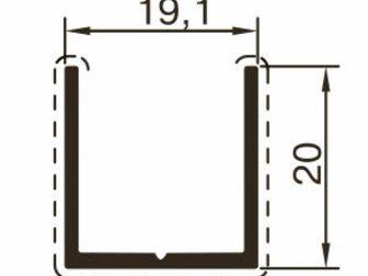 Скачать foto Отделочные материалы Алюминиевый профиль для сантехнических перегородок 32743145 в Казани