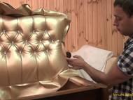 Профессиональная перетяжка, реставрация мягкой мебели Профессиональная перетяжка