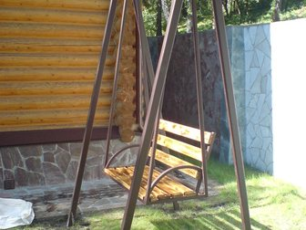 Свежее фото Мебель для дачи и сада Качели садовые кованые 33040795 в Кемерово
