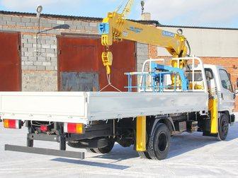 Уникальное foto Самопогрузчик (кран-манипулятор) Продажа нового борта Исузу с манипулятором 5 тн, 13,5 метров 33365927 в Кемерово