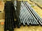 Уникальное изображение  Столбы для забора Металлические столбы, Грунтовка черного цвета, 39992792 в Кириллове