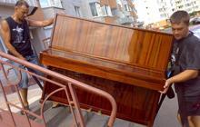 Перевозка пианино грузчики