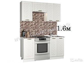 Кухонный гарнитур АГАВА 1, 6м(1, 6/1, 8/2м/2, 4/2, 5/3м) Можно добавить дополнительные модули,  Попробуйте! 1, На главном фото кухня 285х195см: стоимостью 38 в Коломне
