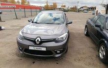 Renault Fluence 1.6МТ, 2013, седан