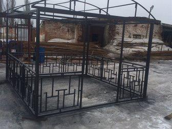 Увидеть foto Строительные материалы Беседка металлическая 33791080 в Костроме