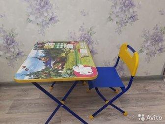 Продам стол и стул детские, Состояние: Б/у в Костроме