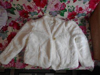 Уникальное фотографию Женская одежда Полушубок свадебный в отличном состоянии 33494385 в Коврове