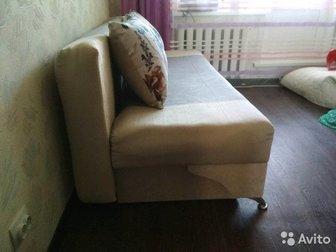 Диван-тахта,в собранном виде 190х70см,спальное место 140х190, очень компактный,со стильными металлическими ножками,  Внутри два ящика для хранения,  В комплекте в Коврове