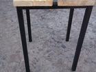 Смотреть фотографию Мебель для дачи и сада Табурет металл ДСП 36101025 в Краснодаре