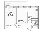 Фотография в Недвижимость Агентства недвижимости Продаю 2-х комнатную квартиру площадью 65, в Краснодаре 2160000