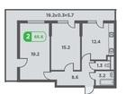 Новое фото Квартиры в новостройках Продам 2 ую квартиру в ЖК Трилогия 37311613 в Краснодаре