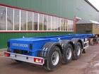 Просмотреть изображение  Полуприцеп контейнеровоз 3осный Steelbear под танк-контейнер 37963868 в Краснодаре