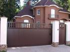 Фото в   Продажа откатных ворот и их монтаж является в Краснодаре 5900