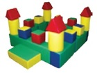 Смотреть изображение Разное Мягкий строительный набор Замок от производителя 40045711 в Краснодаре
