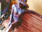 Просмотреть изображение Антиквариат, предметы искусства Скульптура из металла Незнакомка в шляпе 70216382 в Краснодаре