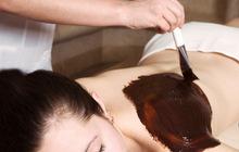 массаж шоколадное обертывание