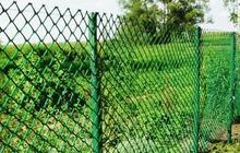 Заборная решетка для забора 40х40мм 1, 5м, Пластик
