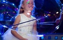 Шоу мыльных пузырей – настоящее волшебство