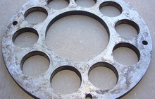 Плита торкрет установки Aliva