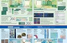 Учебные плакаты по новым банкнотам