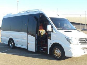 Скачать бесплатно фотографию Авто на заказ Микроавтобус на заказ Мерседес Спринтер 20 мест 32274043 в Краснодаре