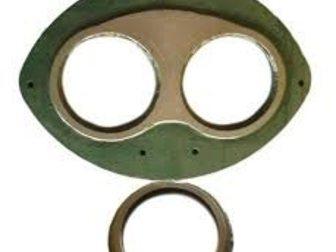 Смотреть изображение Спецтехника Продам шиберные плиты и кольца 33048100 в Краснодаре
