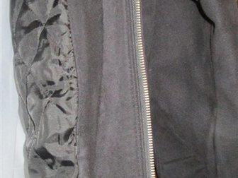 Свежее foto  Куртка мужская замшевая, чёрная, р, 50-52, Корея, 33811029 в Краснодаре
