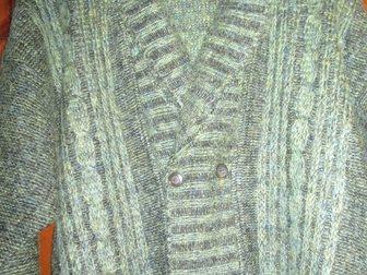 Увидеть фотографию Мужская одежда Пуловер мужской вязаный, натур, шерсть, р, 50-52, Lucky Fashion Wear, Индия, 33811307 в Краснодаре