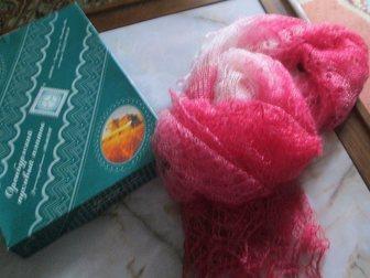 Просмотреть фотографию  Оренбургский пуховый шарф (палантин) «Самоцвет», фабричный 33811346 в Краснодаре