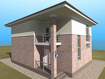 Свежее фотографию  Продам новый 2-эт, дом 130/50/40 м2 (участок 3,1 сот), п, Северный 34524844 в Краснодаре