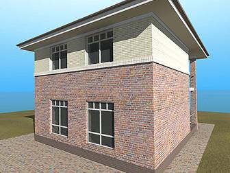 Смотреть foto  Продам новый 2-эт, дом 130/50/40 м2 (участок 3,1 сот), п, Северный 34524844 в Краснодаре