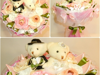 Смотреть foto Разное Свадебные букеты из мягких игрушек Красногорск 32210235 в Красногорске