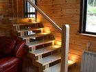 Изображение в Строительные материалы Окна, двери, ворота, лестницы массив сосны стекло подсветка в Красноярске 160000